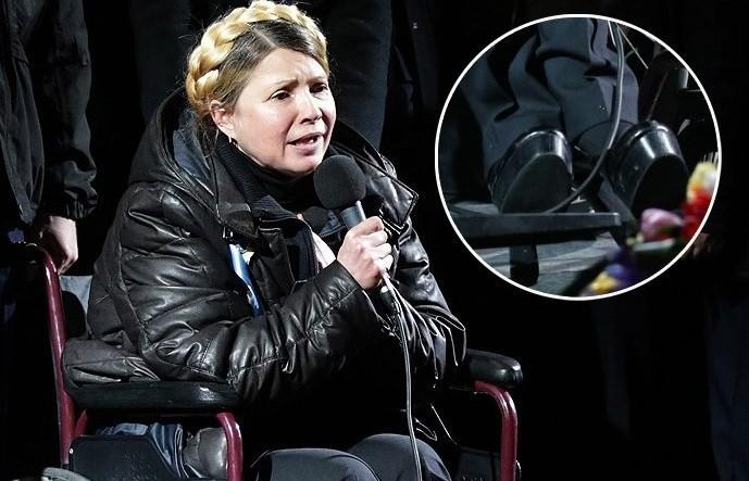 """Еще """"ближе"""" к народу. Юлия Тимошенко – на лабутенах-нах за 40 тысяч евро"""