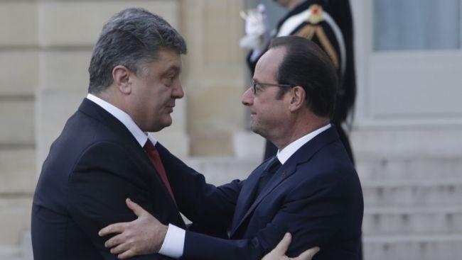 Украина может вступить в НАТО и получить оружие – Оланд