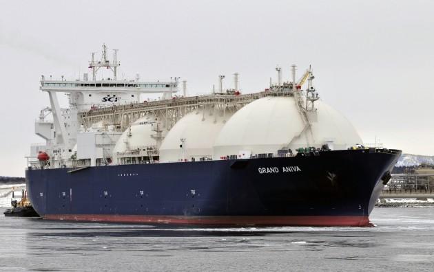 """""""Газпром, привет!"""": Британия получила первую партию американского сланцевого газа"""