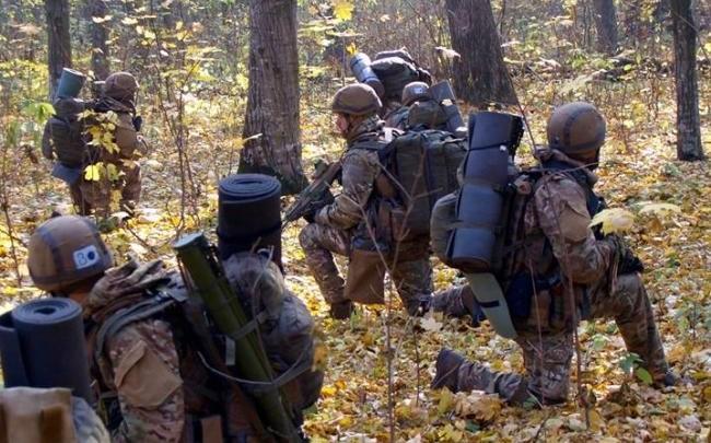 Крутые парни: как с бойцами Сил специальных операций проводят учения по стресоустойчивости. ФОТО
