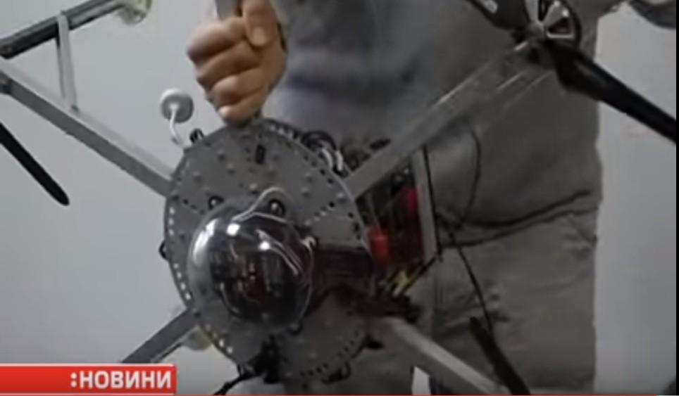 Львовские изобретатели показали уникальный БПЛА. ВИДЕО