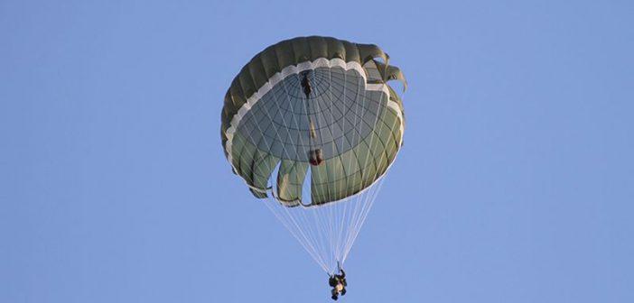 Военнослужащие ССО Вооруженных сил Украины испытали новые парашюты