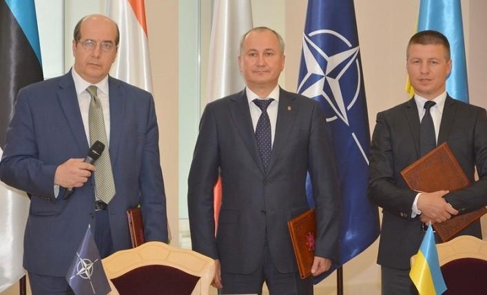 У СБУ відбулася церемонія завершення першого етапу Трастового фонду НАТО зі сприяння Україні в зміцненні кіберзахисту (відео)