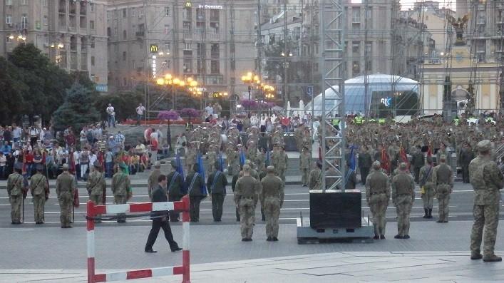 Репетиція параду до Дня Незалежності України. ВІДЕО