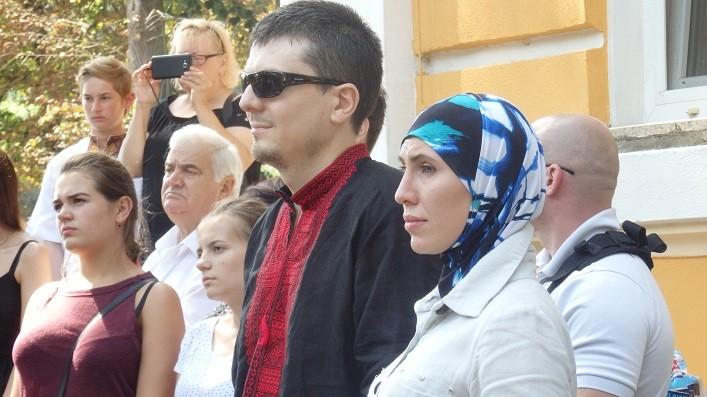 Аміна Акуєва та Адама Осмаєва було відзначено пам'ятним знаком імені Марка Грегорі Паславського. ФОТО