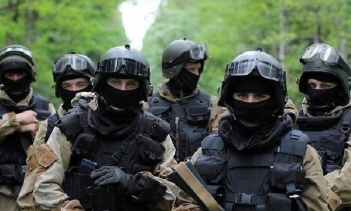 Тренування бійців спецпідрозділу АЛЬФА СБ Україна. ВІДЕО