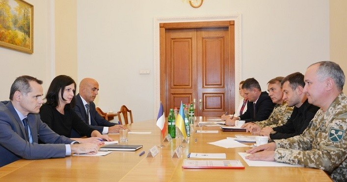 Василь Грицак: ефективна партнерська взаємодія СБУ з французькими колегами буде розширюватись ВІДЕО