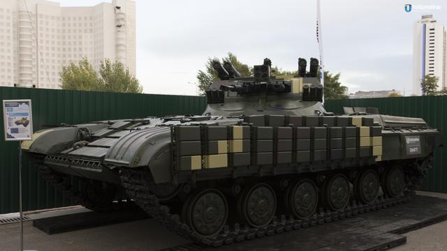 Укроборонпром вперше показав бойову машину підтримки танків Страж