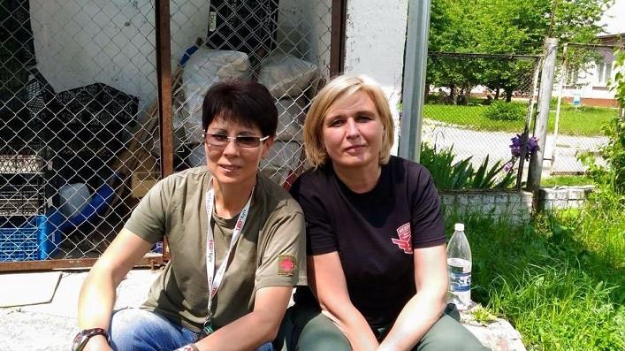 """Анна Майборода – номінант """"Волонтерської премії – 2017"""" від Євромайдан SOS"""