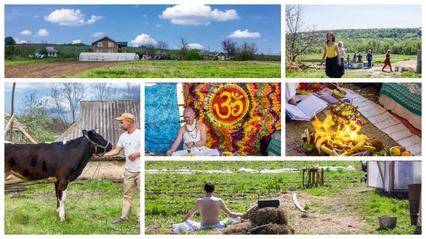 Унікальне еко-поселення створили крішнаїти на Одещині (ФОТО)