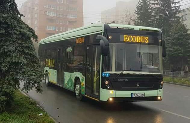 Український електробус Електрон Е191 проїхав 320км зі Львова до Кам'янця-Подільського