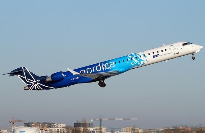 В аэропорт Киев заходит эстонская авиакомпания Nordica