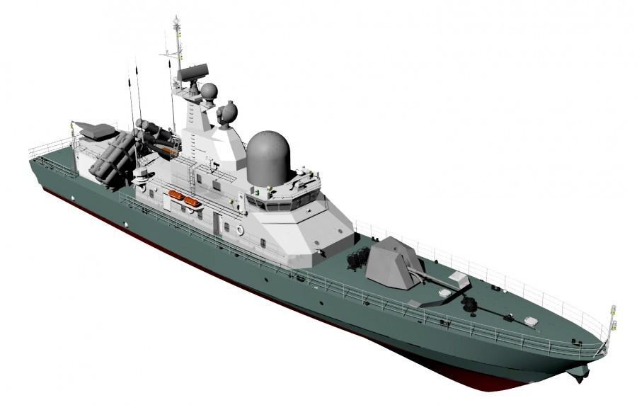 Украинский ракетный катер «Лань» будет способен уничтожить практически все корабли в составе ВМФ ЧФ РФ