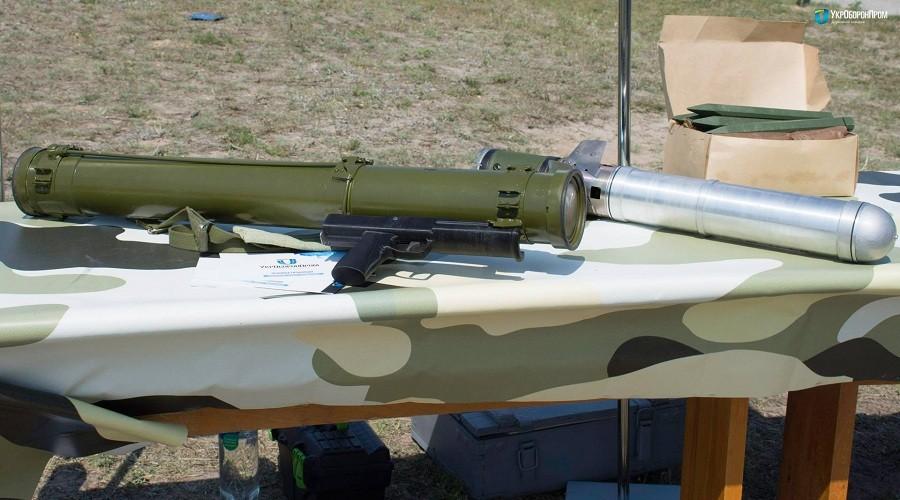 Українськи підприємства випустять велику партію новітніх потужних відчизняних реактивних вогнеметів РПВ-16