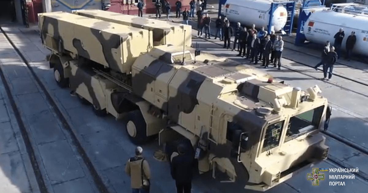 Новий український ракетний комплекс «Грім-2» пройшов випробування ракетного двигуна (ВІДЕО)