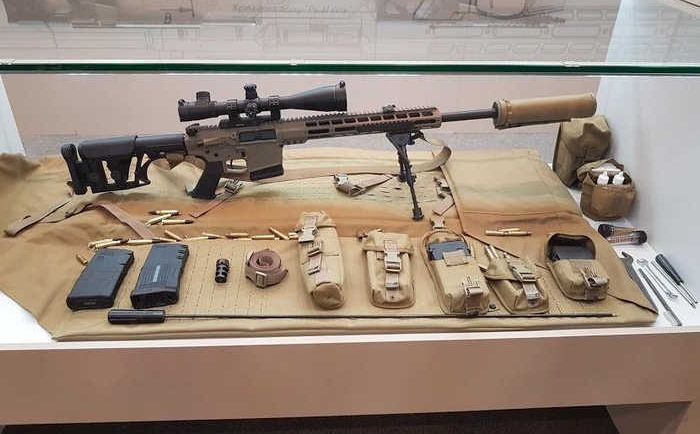 На озброєння ЗСУ прийнято українську снайперську гвинтівку UR-10