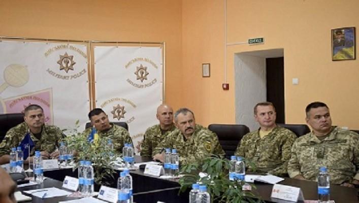 ЕКСПЕРТИ НАТО ВІДВІДАЛИ НАВЧАЛЬНИЙ ЦЕНТР ВСП ЗС УКРАЇНИ У ЛЬВОВІ