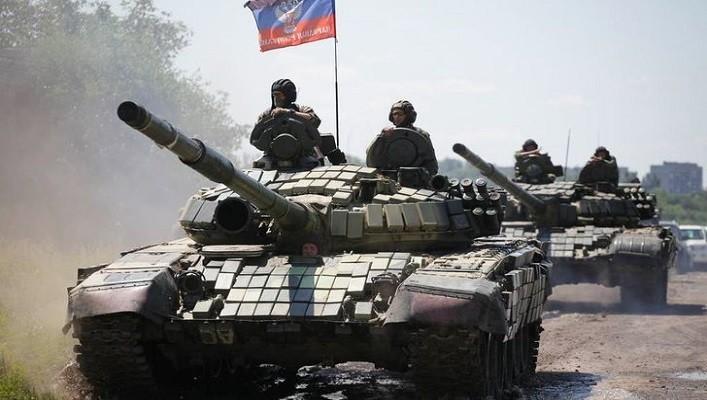 Боевики перебросили под оккупированную Горловку бронетехнику
