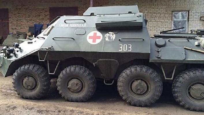 Военные медики на Донбассе были прицельно обстреляны боевиками