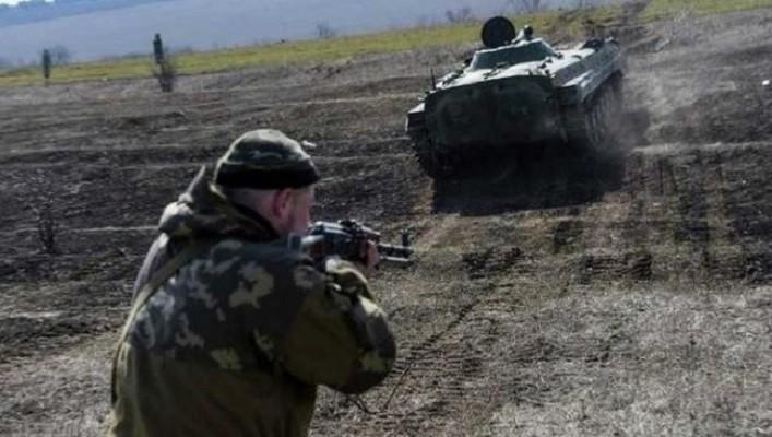Оккупанты проводят учения по тактической и огневой подготовке на полигонах в ОРДЛО
