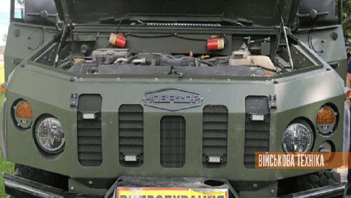 Бронеавтомобіль «Новатор» розглядається, як один з варіантів для прийняття на озброєння ЗСУ