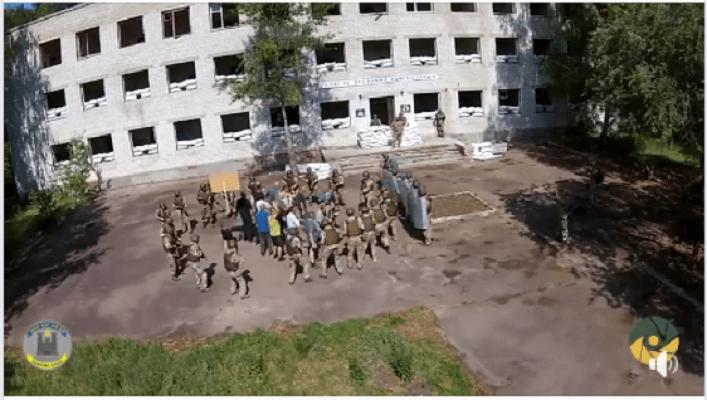 Представители Балтии и Скандинавии приехали на бригадные учения резервистов ВСУ. ВИДЕО