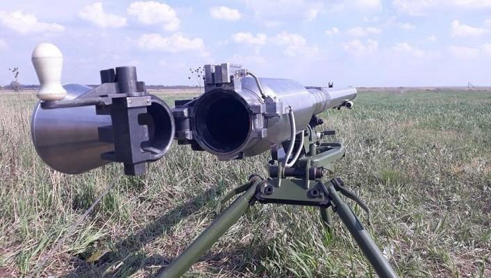 Україна створила вітчизняний протитанковий гранатомет