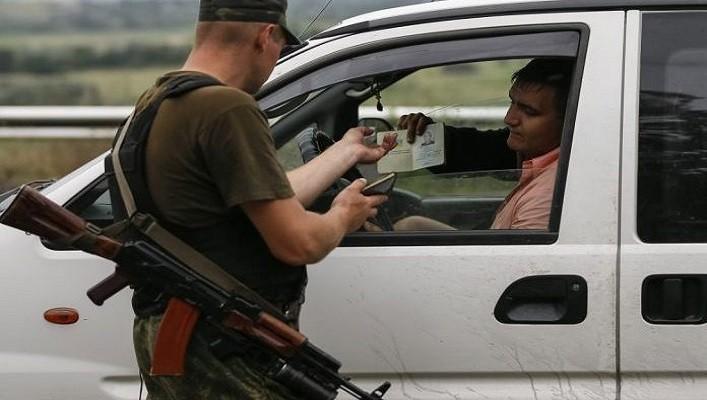 На блокпосту «ДНР» в Горловке арестована семья в полном составе.