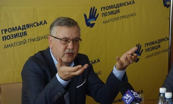 Анатолий Гриценко типичная зрадогнида или подпевала российских пропагандистов?