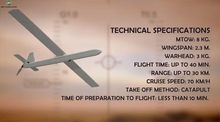 В Україні успішно випробували перший вітчизняний дрон-камікадзе (ВІДЕО)