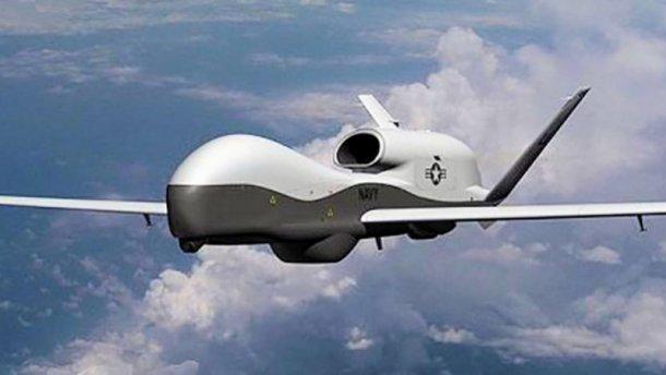 Безпілотник США здійснює розвідувальний політ над Донбасом