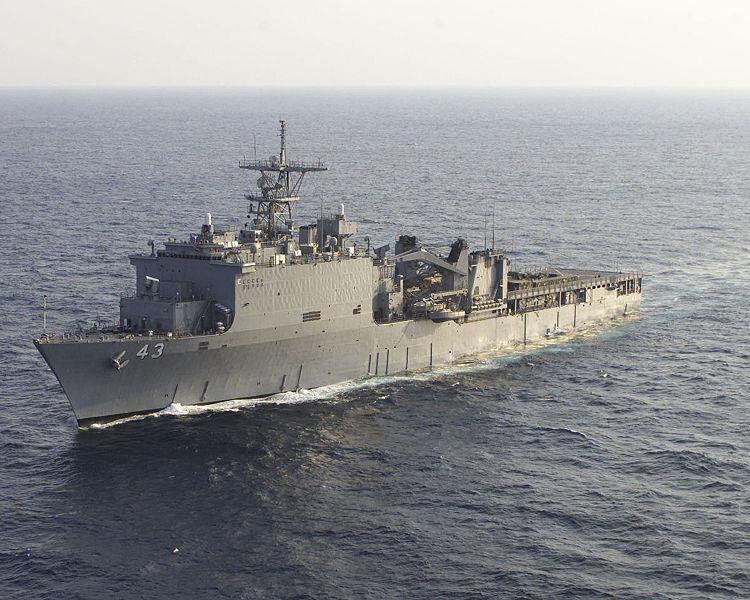 Десантний корабель ВМС США увійшов у Чорне море
