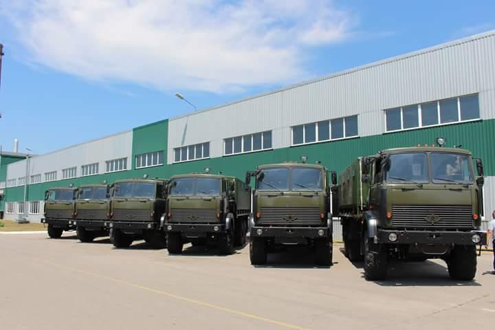 """""""Богдан"""" відвантажив Збройним силам 200 вантажівок у 2018 році"""